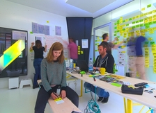 Work space vision room design thinking