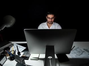 Office light exposure
