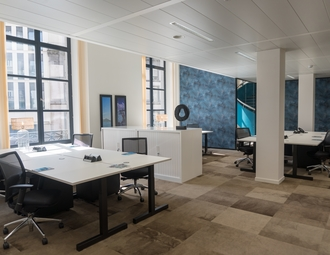Business center, Brussels City Center, Rue des Colonies
