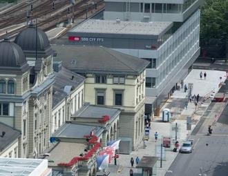 Business center, Zürich, Bahnhofplatz