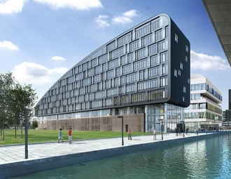 Business center, Amsterdam, Piet Heinkade