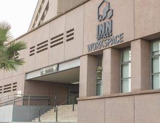 Office, Seville, Estadio Olímpico de la Cartuja, Puerta A