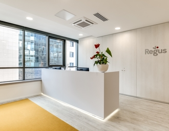 Business center, Nanterre, Avenue Charles de Gaulle