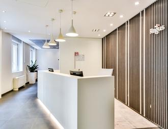 Business center, Milan, Via Uberto Visconti di Modrone
