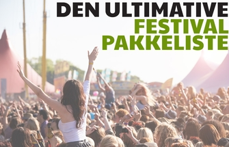 Den ultimative festival pakkeliste cover billede