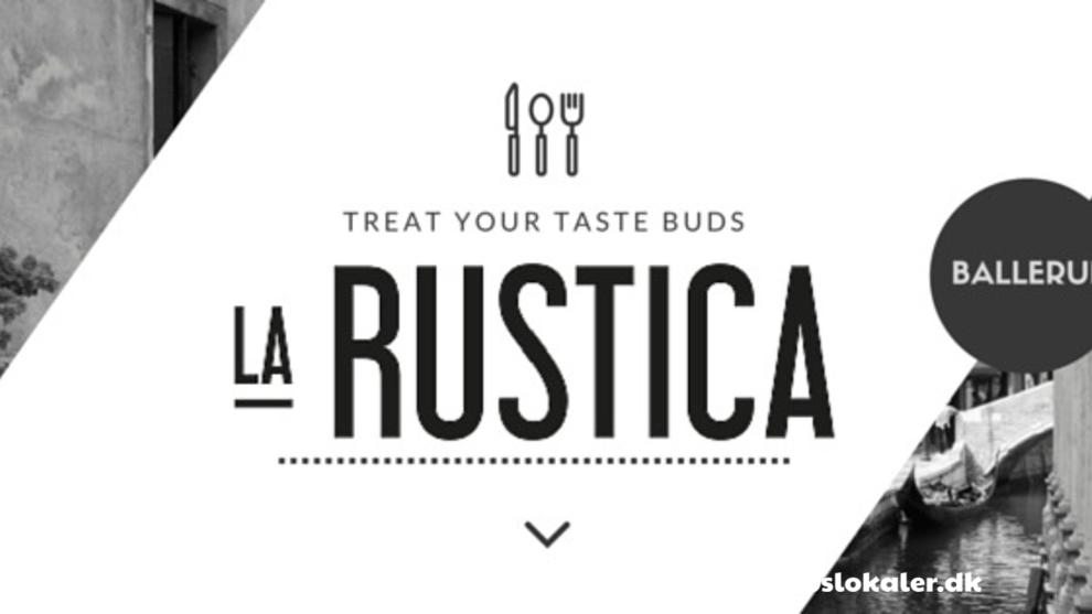 La Rustica - Ballerup • Få gratis info og hold din fest hos os