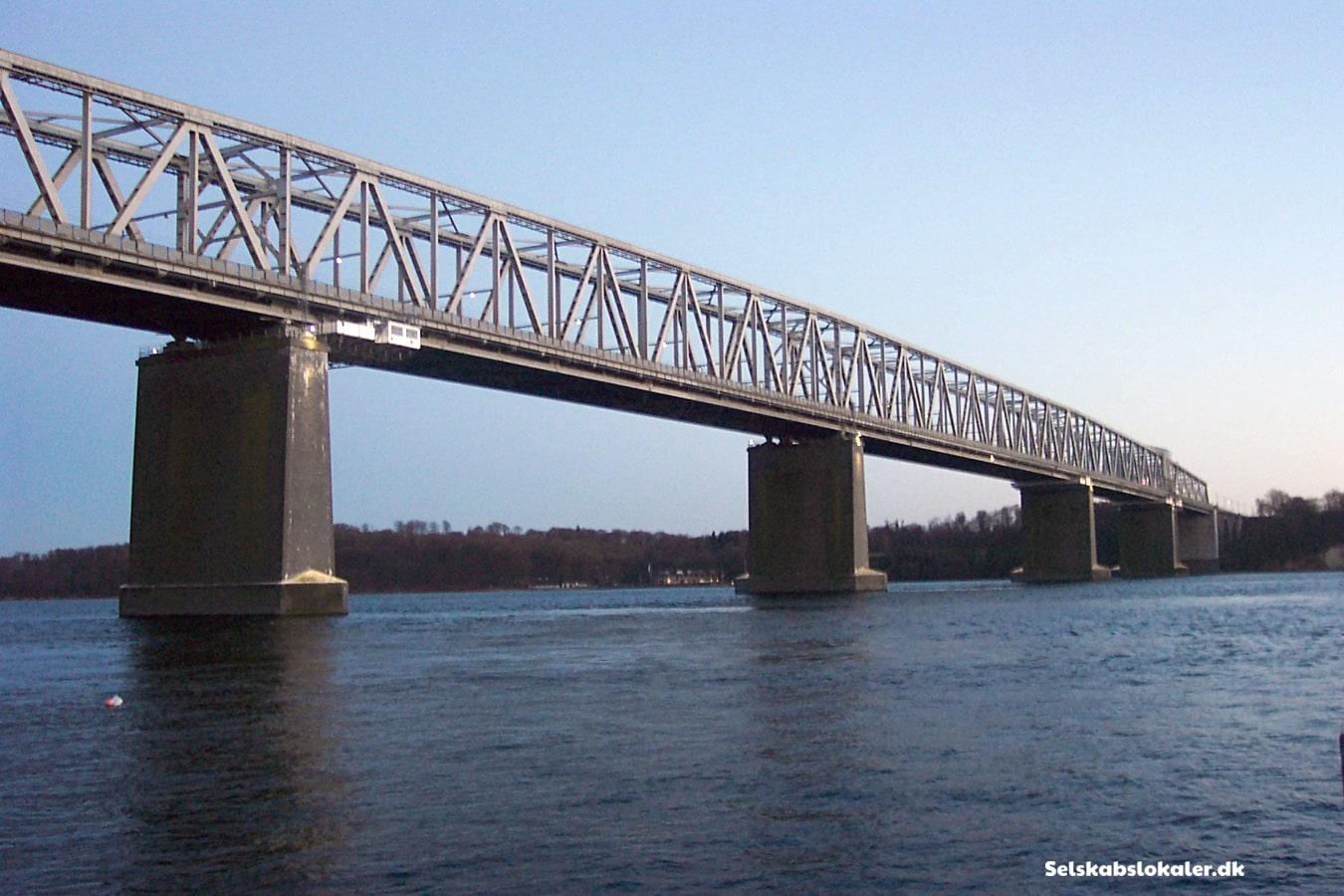 Bridgewalking på lillebæltsbroen