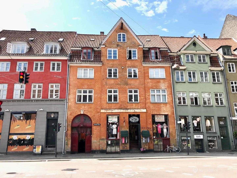 Kontorpladser til leje i pakhuset på Gammel Mønt 19A